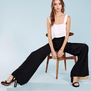 REFORMATION Bowie Flare Career Work Dress Pant M